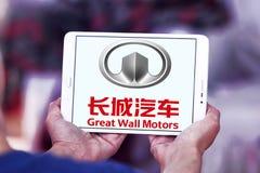 Logotipo de Motores Empresa do Grande Muralha Imagem de Stock Royalty Free
