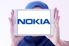 Logotipo de Nokia imágenes de archivo libres de regalías