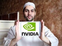 Logotipo de Nvidia foto de stock royalty free