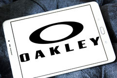 Logotipo de Oakley Imagen de archivo libre de regalías