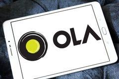 Logotipo de Ola Cabs Imagens de Stock