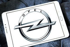 Logotipo de Opel foto de stock royalty free