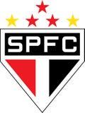 Logotipo de Paulo Futebol Clube del sao Fotos de archivo
