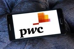 Logotipo de Pwc Foto de archivo libre de regalías