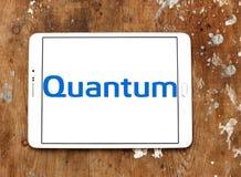 Logotipo de Quantum Corporation Imágenes de archivo libres de regalías