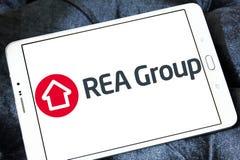 Logotipo de REA Group Imagen de archivo libre de regalías