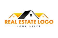 Logotipo de Real Estate Imágenes de archivo libres de regalías