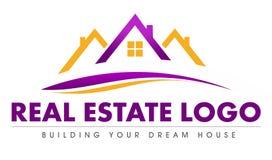 Logotipo de Real Estate ilustración del vector