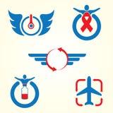 Logotipo de refrescamento do vetor Fotos de Stock