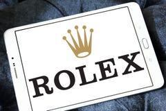 Logotipo de Rolex imágenes de archivo libres de regalías