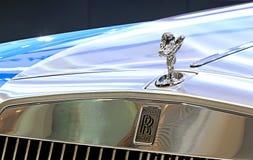 Logotipo de Rolls Royce no amortecedor Imagens de Stock