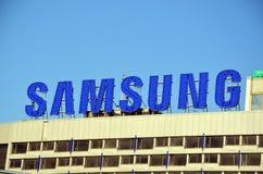 Logotipo de Samsung Imágenes de archivo libres de regalías