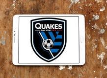 Logotipo de San Jose Earthquakes Soccer Club Imagens de Stock Royalty Free