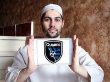 Logotipo de San Jose Earthquakes Soccer Club Fotografia de Stock Royalty Free