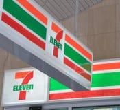 Logotipo de Seven Eleven Imagens de Stock Royalty Free