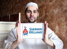 Logotipo de Sherwin Williams Company Fotos de Stock