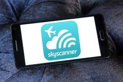 Logotipo de Skyscanner Fotos de archivo libres de regalías