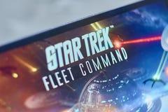 Logotipo de Star Trek imagen de archivo libre de regalías