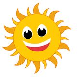 Logotipo de Sun Fotografia de Stock