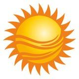 Logotipo de Sun Fotos de Stock
