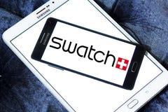 Logotipo de Swatch Imagenes de archivo