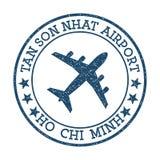 Logotipo de Tan Son Nhat Airport Ho Chi Minh ilustración del vector