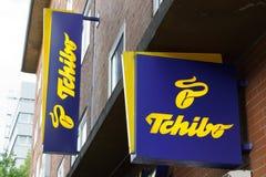 Logotipo de Tchibo Imagem de Stock