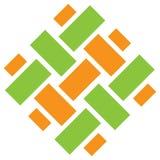 Logotipo de tecelagem Fotografia de Stock Royalty Free