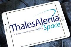 Logotipo de Thales Alenia Space Imagen de archivo libre de regalías