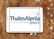 Logotipo de Thales Alenia Space Imagen de archivo