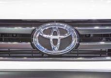 Logotipo de Toyota en el tope fotos de archivo libres de regalías
