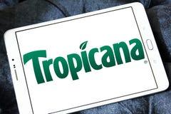 Logotipo de Tropicana Foto de archivo
