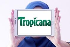 Logotipo de Tropicana Fotografía de archivo libre de regalías