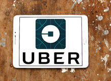 Logotipo de Uber foto de stock royalty free