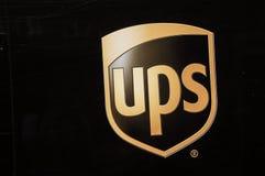 Logotipo de UPS Company imagen de archivo