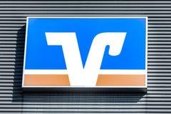 Logotipo de VOLKSBANK Imagens de Stock