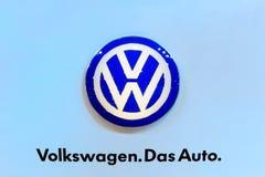 Logotipo de Volkswagen Fotografia de Stock