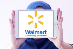 Logotipo de Walmart Imagens de Stock