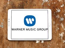 Logotipo de Warner Music Group fotografia de stock
