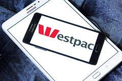 Logotipo de Westpac Banking Corporation fotografía de archivo libre de regalías