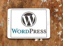 Logotipo de WordPress foto de archivo libre de regalías