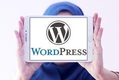 Logotipo de WordPress fotografía de archivo libre de regalías