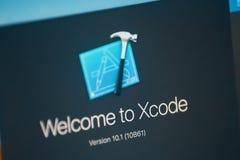 Logotipo de Xcode fotografía de archivo libre de regalías