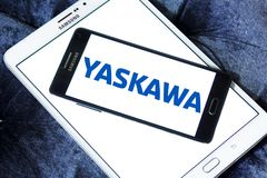 Logotipo de Yaskawa Electric Corporation fotografía de archivo libre de regalías