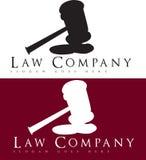 Logotipo del abogado Imagen de archivo libre de regalías