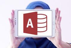 Logotipo del acceso del Microsoft Office fotos de archivo
