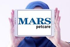 Logotipo del alimento para animales del petcare de Marte Imagenes de archivo