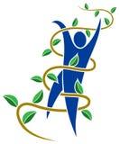 Logotipo del amigo de Eco Imágenes de archivo libres de regalías
