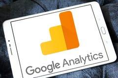 Logotipo del Analytics de Google imágenes de archivo libres de regalías