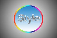 Logotipo del arco iris Foto de archivo